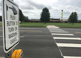 Fourth Street Crosswalk Receives Light