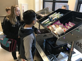Grab & Go Breakfast Comes to PCMS