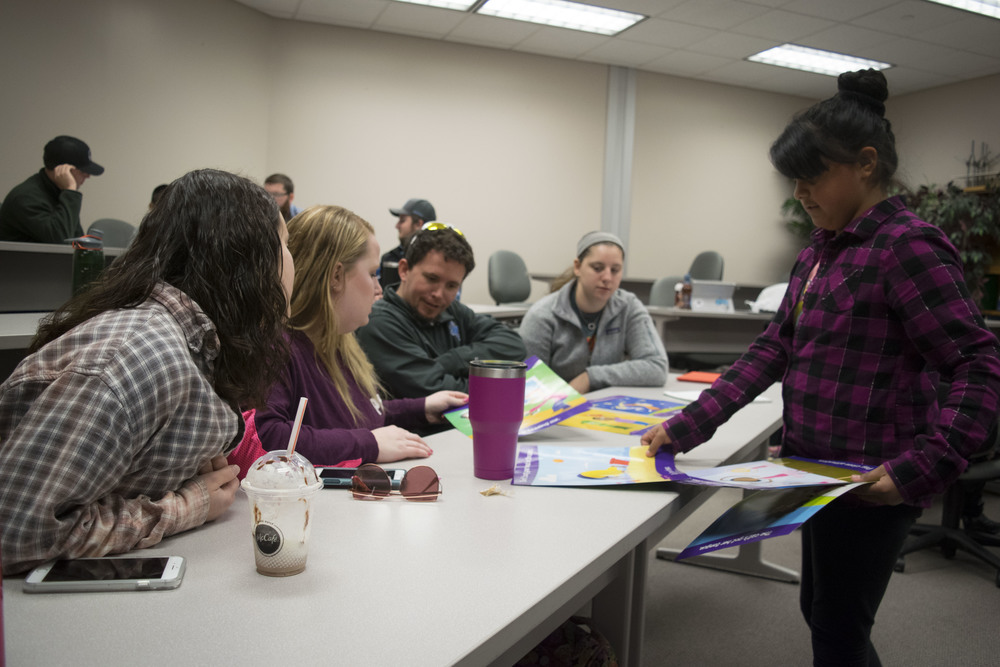 Westside Elementary ESOL students teach college