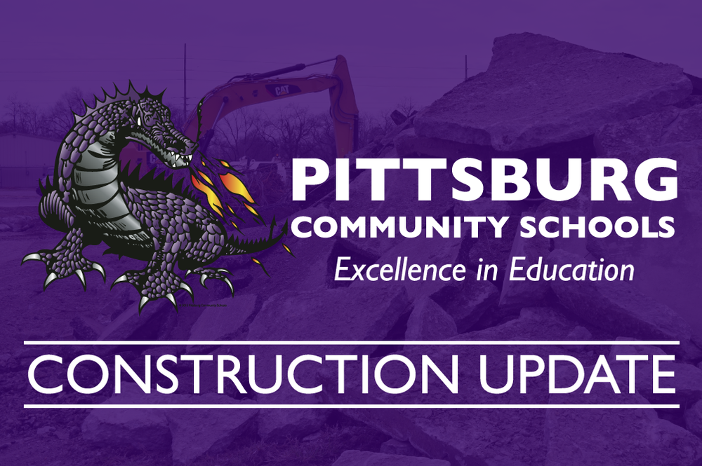 Construction Update: Work continued over Spring Break