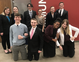 PHS Debate Forensics takes 1st at District Sweepstakes