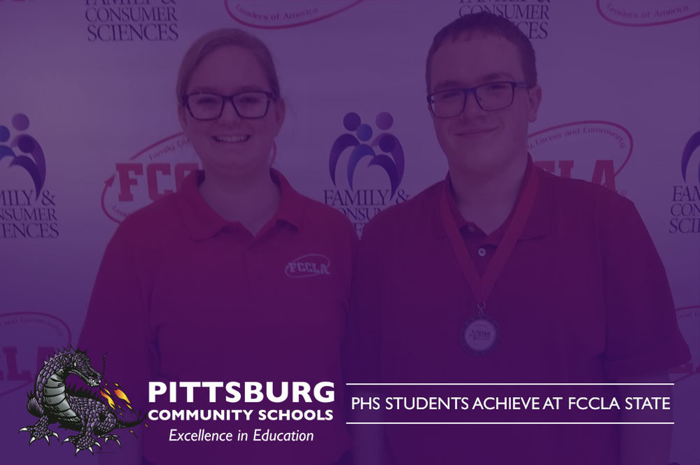 PHS STUDENTS ACHIEVE AT FCCLA STATE