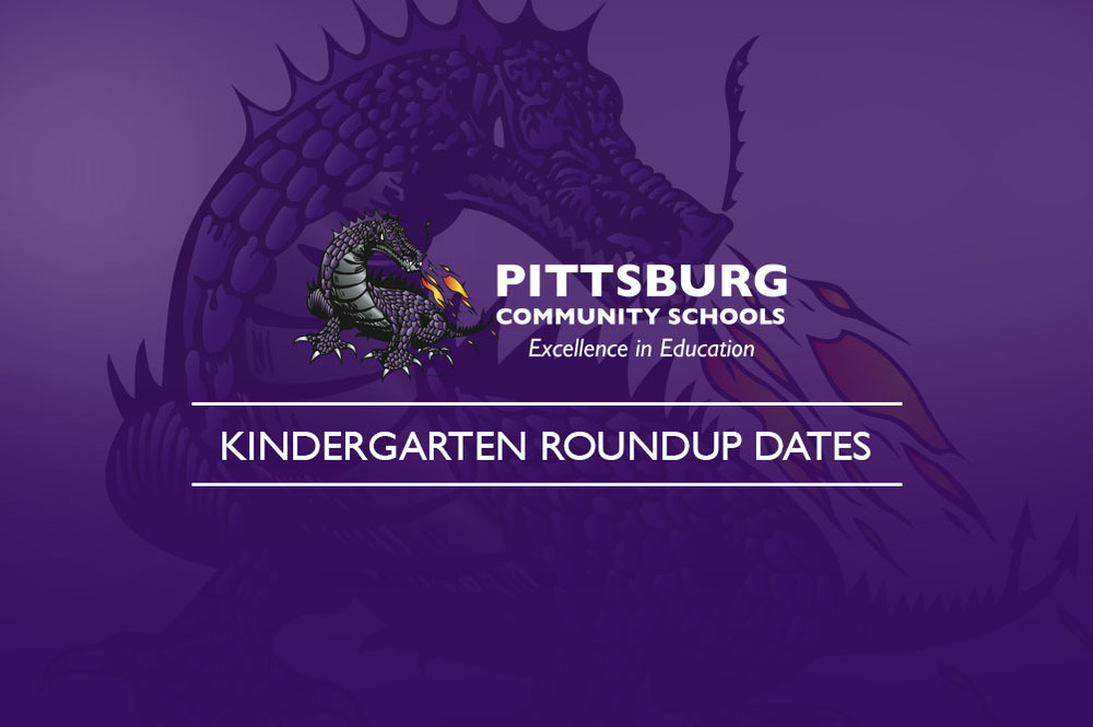 Kindergarten Roundup Dates