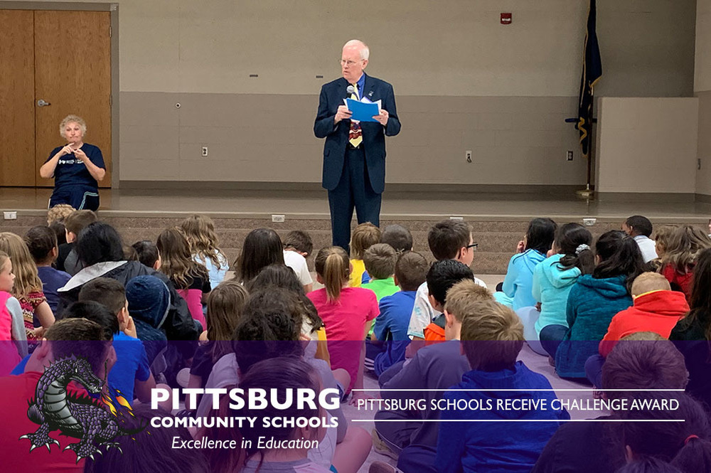 Pittsburg Schools Receive Challenge Award