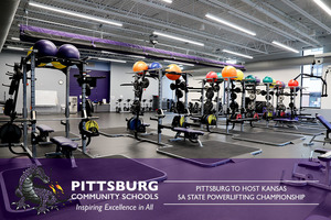 Pittsburg to Host Kansas 5A State Powerlifting Championship