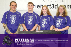 PHS Archery Compete in National Archery Tournament