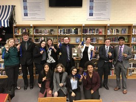 PHS Dragons have success at State Debate
