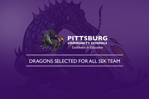 Dragons Selected for ALL SEK Team