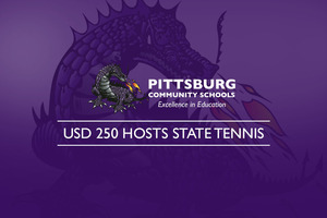 USD 250 Hosts State Tennis