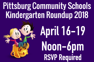 Kindergarten Roundup Dates Announced