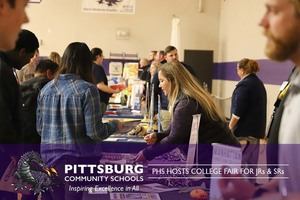 PHS Hosts College Fair for Juniors & Seniors