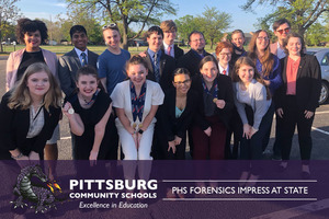 PHS Forensics Impress at State