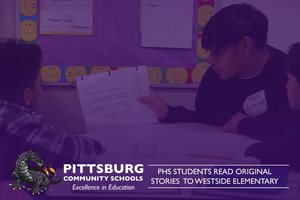 PHS Students Read Original Stories to Westside