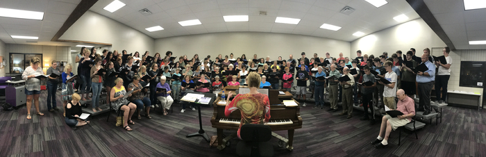 Multi-Generational Choir Rehearsal
