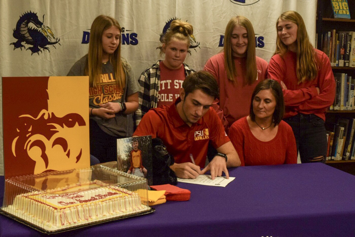Kafka signs with Pitt State.