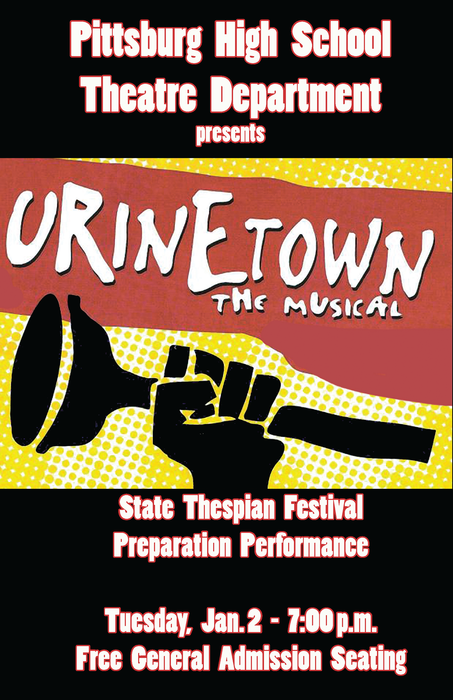 Urinetown: the Musical poster