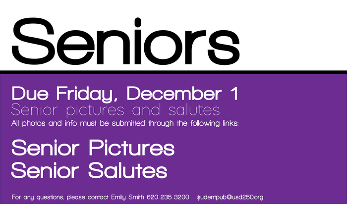 Senior Salute Announcement
