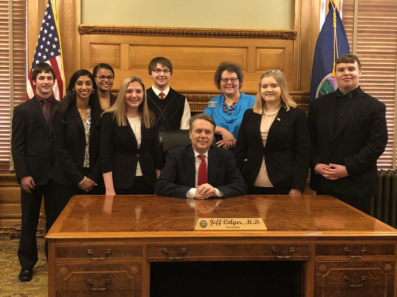 PHS Debate/Forensics with Governor Colyer & Representative Murnan